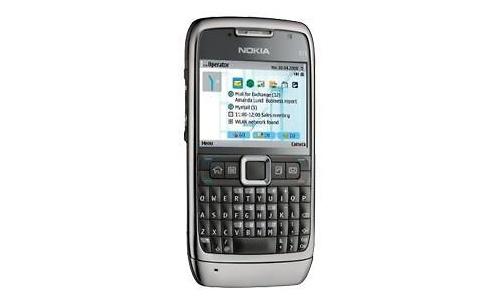 Nokia E71 Grey Steel