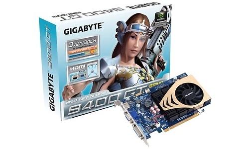 Gigabyte GeForce 9400 GT OC 512MB