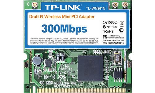 TP-Link Wireless N Mini PCI Adapter