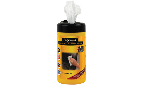 Fellowes Cleaning Wipes 100pcs