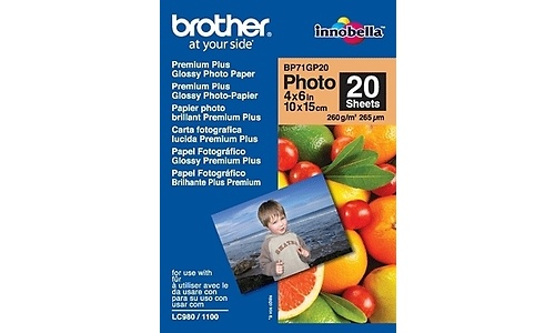 Brother BP71GP20 Paper Glossy 10x15cm 20 sheets