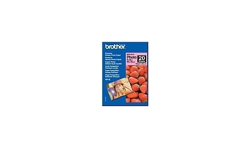 Brother BP61GLP Paper Glossy A6 20 sheets
