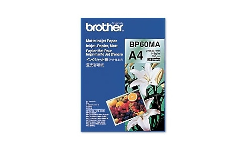 Brother BP60MA Matt Inkjet Paper A4 25 sheets