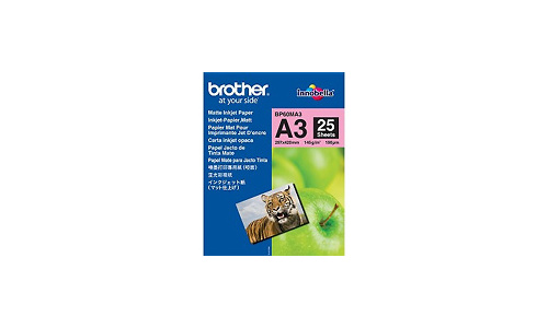 Brother BP60MA3 Matt Inkjet Paper A3 25 sheets