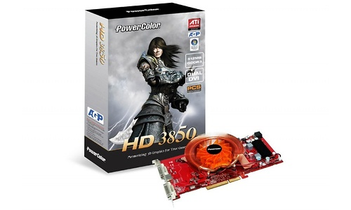 PowerColor Radeon HD 3850 D3 2DH 512MB AGP