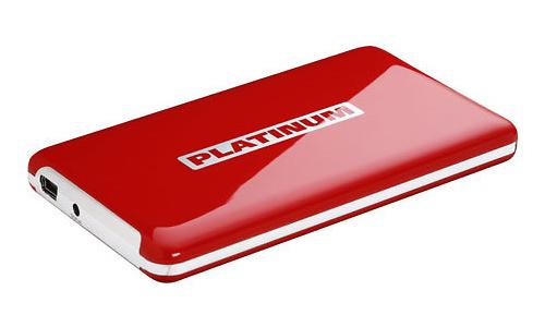 Platinum MyDrive 250GB Red