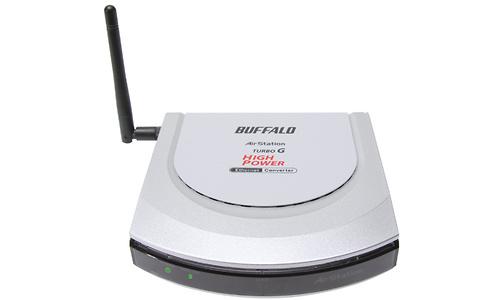 Buffalo Wireless-G MIMO Performance Ethernet Converter