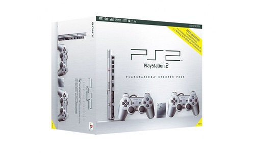 Sony PlayStation 2 Silver Starter Pack