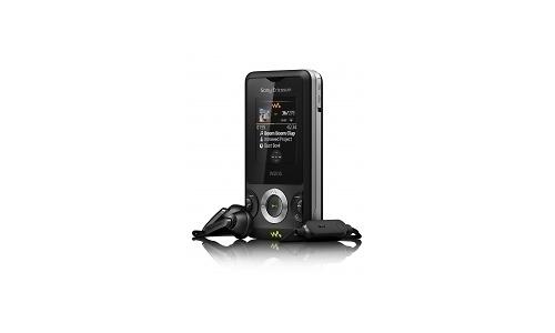 Sony Ericsson W205 Ambient Black