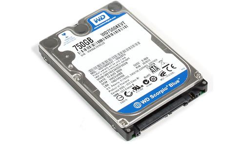 Western Digital Scorpio Blue 750GB (WD7500KEVT)