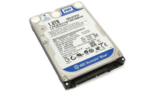 Western Digital Scorpio Blue 1TB (12.5mm)
