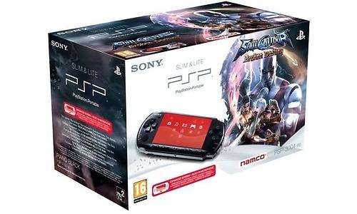 Sony PSP Slim & Lite + Soul Calibur IV