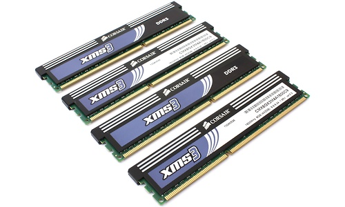 Corsair XMS3 8GB DDR3-1600 CL9 quad kit