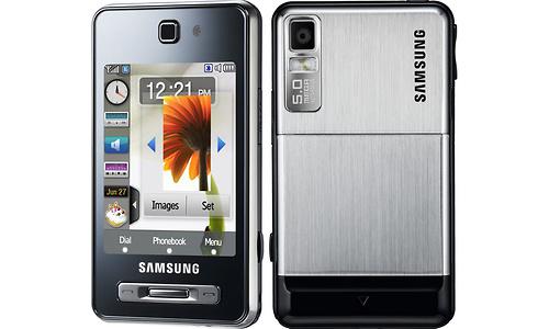 Samsung F480i TouchWiz Ice Silver