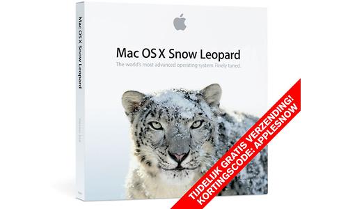 Apple Mac OS X v.10.6 Snow Leopard NL Box Set Full Version