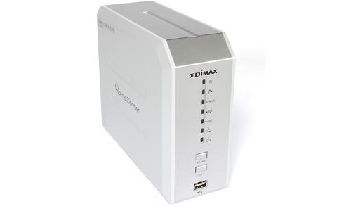 Edimax Gigabit Fast Ethernet 2-Bay SATA NAS Server