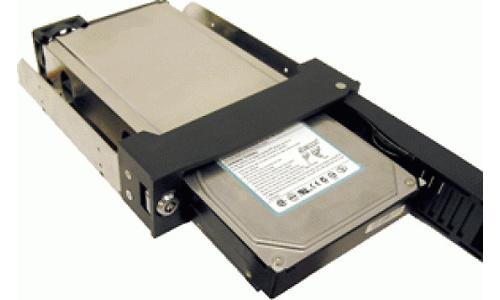 Addonics Snap-In USB 2 Mobile Rack Black