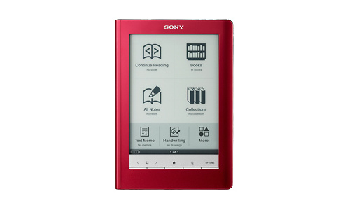 Sony Reader Touch Edition Red