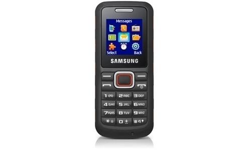 Samsung E1130 Rocky Orange Black