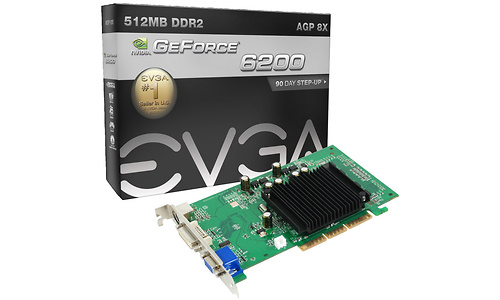 EVGA GeForce 6200 AGP 512MB