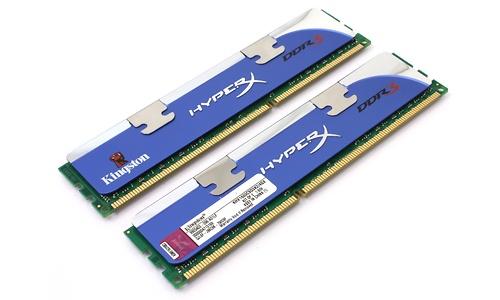 Kingston HyperX 4GB DDR3-1600 CL9 XMP kit