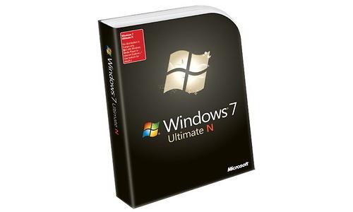 Microsoft Windows 7 Ultimate N EN Upgrade
