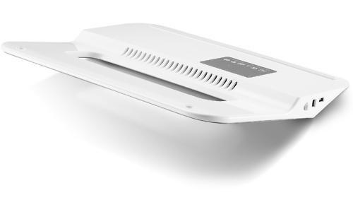 Choiix Air-Through Thin Notebook Cooling Pad White