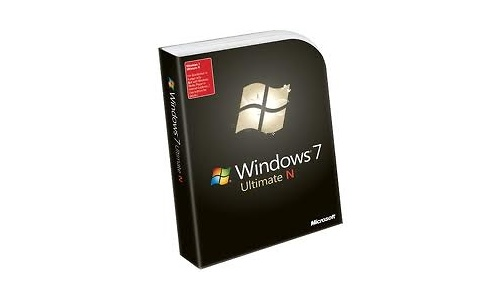 Microsoft Widnows 7 Ultimate N FR