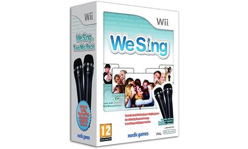 We Sing + 2 Microphones Bundle (Wii)