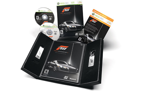 Forza Motorsport 3, Limited Collector's Edition (Xbox 360)