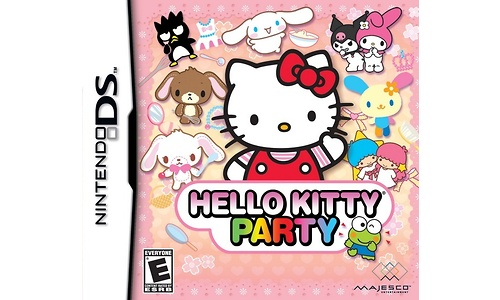 Hello kitty, Puzzle Party (PSP)