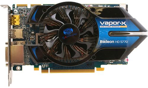 Sapphire Radeon HD 5770 Vapor-X 1GB (Blue PCB)