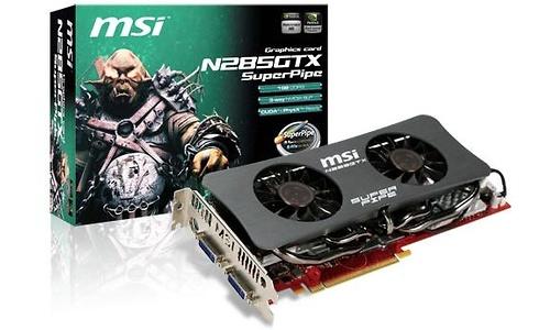 MSI N285GTX SuperPipe
