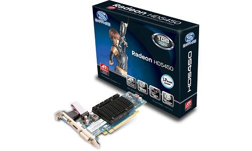 Sapphire Radeon HD 5450 1GB (DDR2)