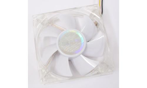 Akasa White LED Quiet Fan 80mm