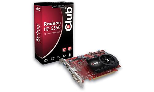 Club 3D Radeon HD 5550 512MB
