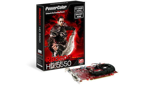 PowerColor Radeon HD 5550 512MB