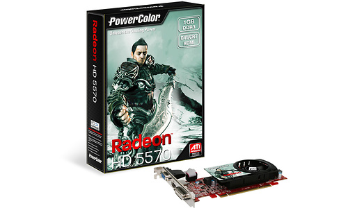 PowerColor Radeon HD 5570 LP 1GB