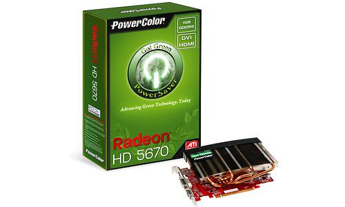 PowerColor Radeon HD 5670 Go! Green 1GB