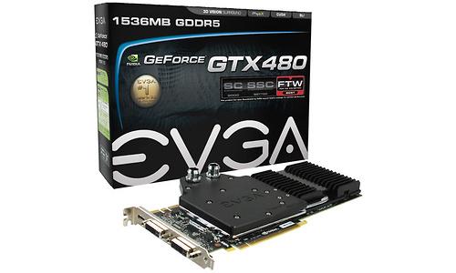 EVGA GeForce GTX 480 Hydro Copper FTW