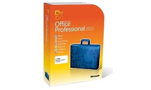 Microsoft Office Professional 2010 NL (Retail)