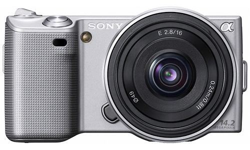 Sony NEX-5 16mm kit Silver