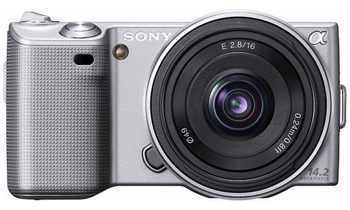 Sony NEX-5 16mm + 18-55 kit Silver