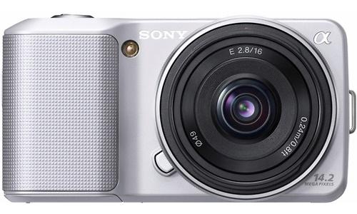 Sony NEX-3 16mm kit Silver