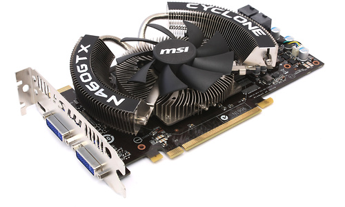 MSI N460GTX Cyclone OC 1GB