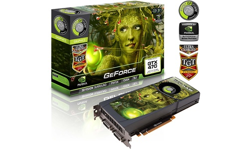 Point of View GeForce GTX 470 Ultra Charged 1280MB