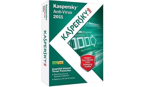 Kaspersky Anti-Virus 2011 NL 3-user