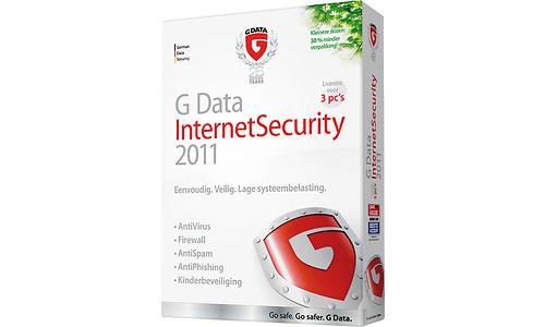 G Data InternetSecurity 2011 NL 3-user
