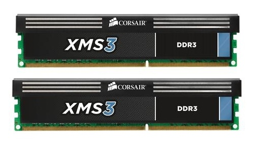 Corsair XMS3 8GB DDR3-1600 CL9 kit