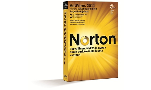 Symantec Norton AntiVirus 2011 BNL 3-user